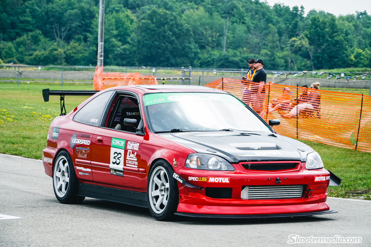 Boersma Racing Time Attack Civic