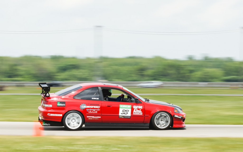 Boersma Racing Time Attack Civic @ CSCS Round 2 Grand Bend Motorplex