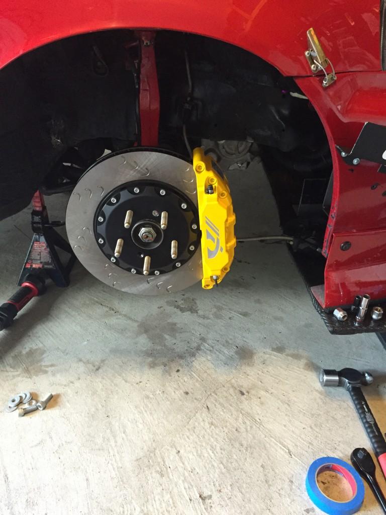 """Neo Motosports 13"""" Brakes Installed"""